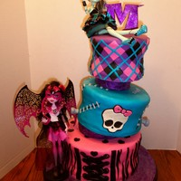 This Is A Monster High Cake For A 10 Year Olds Birthday The Mother Wanted 2 New Dolls Included In The Design As Well I Used Richard Rus This is a Monster High cake for a 10-year old's birthday. The mother wanted 2 new dolls included in the design as well. I used Richard...