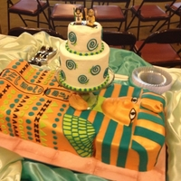 King Tut Wedding Cake