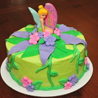 A Tinkerbell Birthday This was a special request from a friend for her little girl's birthday who is a HUGE Tinkerbell fan. They both LVOED it. TFL!