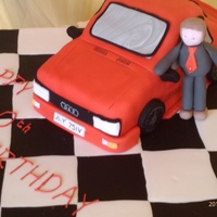 Ashes To Ashes A cake made for a friends 40th birthday, and she is a big fan of the series ashes to ashes