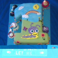 Baby Tv 1St Birthday This cake was for a little boys first birthday, who happens to be mad about baby tv. As you can see in the picture Tulli is his favourite!...