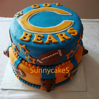 Go Bears!!  A friend asked me if I wanted to make a cake for her husband, a huge Chicago Bears fan (living here in the Netherlands) Well, because of...