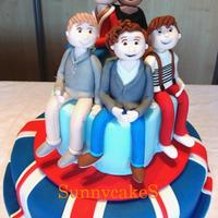 One Direction Cake For My Daughter   One Direction Cake for my daughter.