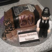 Beer Barrel Cake   Beer barrel cake