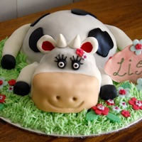 Novelty Cow Cake