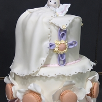 Sweet Christening This design has been created for a very special little girl?s Christening event! The cake is soft in colors, but rich in flavors and...
