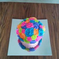 Rose Giant Cupcake Top