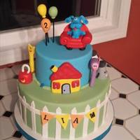Blue's Clues Birthday Cake *
