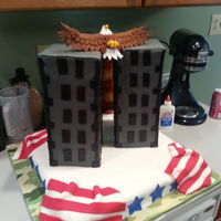 My Son Was Born On 91101 This Cake Was His Idea He Said He Wanted To Honor The Memory Of The People That Died That Day So Heres What H My son was born on 9/11/01. This cake was his idea, he said he wanted to honor the memory of the people that died that day. So here's...