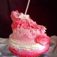 Pink Umbrella My dad passed away on February 27th and before he died he asked me to please enter a cake contest. he said he knew that I had some real...