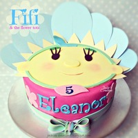 Fifi   Made this Fifi {and the flower tots} birthday cake for Eleanor who turned 5 last week. TFL and comments welcome x