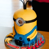 Minion!!! Minion Birthday Cake for Johnny!!! Loved making this one!!!