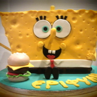 3D Cakes 3D SpongeBob Cake!!!He saw quite big and I enjoyed making him!!!