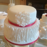 Lace Wedding Cake Lace Wedding cake