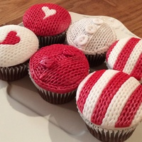 My Knitted Winter Range Cupcakes Lol My knitted winter range cupcakes lol
