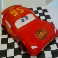 Lightning Mcqueen I made this for a customer of mine and it was the first time I have ever had to mold this shape. It was very interesting and challenging. I...