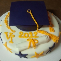 Jason's Graduation Cake Made this for a young man who was graduating mid year. Amazing Chocolate recipe was loved