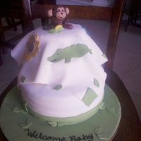 Jungle Jingle Baby Shower Cake
