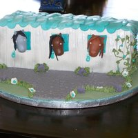 Debbie Brown Pony Barn   My Interpretation of Debbie Brown's Pony Barn Cake.This was for an 11 year old girls birthday