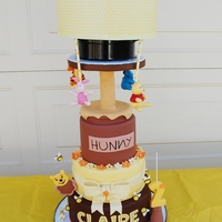 Spinning Winnie The Pooh And Friends To look how this cake spinning please check out my facebook pages https://www.facebook.com/video.php?v=1016616571687655&set=vb....