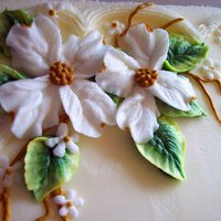 Buttercream Dogwood Blossoms   Dogwoods are one of my favorites!