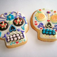 Day Of The Dead Duo  I found Day of the Dead cookies wither here on CC or elsewhere on the internet (sorry, don't remember exactly! ;)) and used them as a...