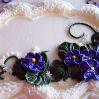 Buttercream Violets