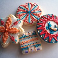 Spanish Cookies   Royal icing and lots of fun detail work on sugar cookies