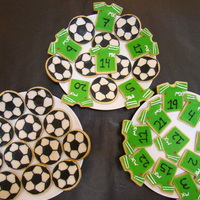 Football Soccer Cookies