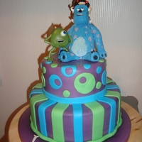 Monster Inc   Great cakes to make as well as the characters