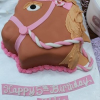 Cakes Of The Past!!   Horse themed cake for my daughter!!