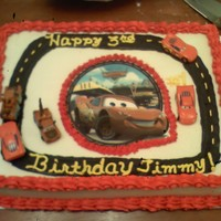 Cars Themed Cake Cars themed Cake