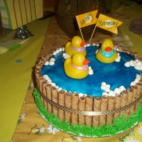 Ducks In A Tub Cake