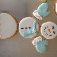 De Constructed Snowman Cookies Sugar Cookie Recipe Used Was From Sweetopolitas Blog Royal Icing Outline And Details Toba Garretts Glaze De-constructed snowman cookies. Sugar cookie recipe used was from Sweetopolita's blog. Royal icing outline and details. Toba Garrett&#...