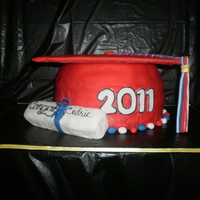 Sam Houston High Graduation Cake