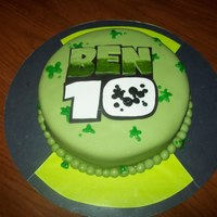 Ben 10 Birthday Cake Made this for a friend's son - Ben - for his 10th birthday! How perfect is that? Cake is chocolate, crumb coat in BC, covered in MMF...