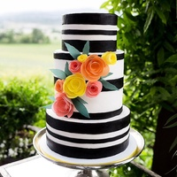 Bold Wafer Paper Cake