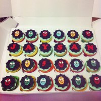 Spiderman Cupcakes *spiderman cupcakes