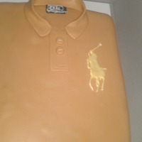 Polo Shirt My first shirt cake