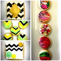 Handpainted Cookies For Wedding Favors