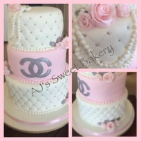 Chanel Cake For A Quincenera Chanel cake for a Quincenera