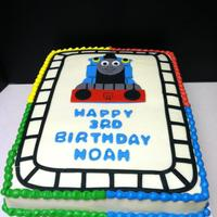 Thomas The Train thomas and the track are fondant