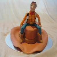 Woody's Cowboy Hat Cake I was asked to make a cake for a lady who is a huge fan of Toy Story, and Woody in particular. The brief was to make a small cake, enough...
