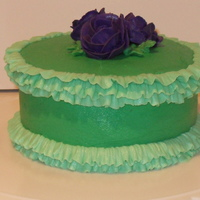 Messing Around Late At Night Experimenting with buttercream ruffles.