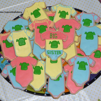 Baby Shower   We let our freak flags fly with these cookies for a friend's baby shower.