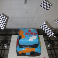 Monster Truck   I made this cake for my nephew