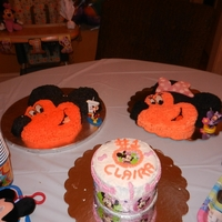 Mikey And Minnie Cake