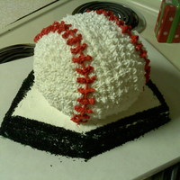 Baseball Birthday Cake For Nephew
