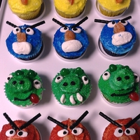Angry Birds   For my Grandson's 10th birthday ... Angry Bird themed.
