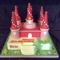 Fairy Castel I loved making this cake and then seeing the little girls face light up when she saw it. It gives great satisfaction for the hard work we...